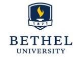 Bethel Univ logo