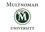 Multnomah Univ logo